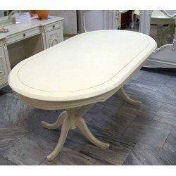 Обеденный раскладной стол на двух ногах Анна