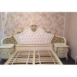 Королевская классическая кровать 1800 Джоконда с золотом, Белорусия