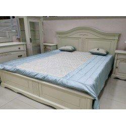 Классическая светлая кровать 1800 Анна в стиле Прованс