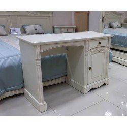 Белый туалетный столик мини Анна. Румынская мебель