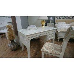 Белый письменный столик Венеция