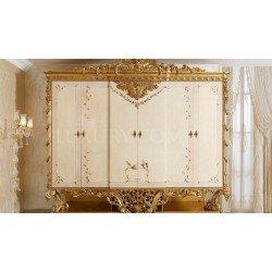 Шестидверный шкаф для одежды в спальню Фатин