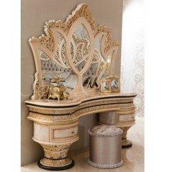 Классический резной туалетный столик в стиле барокко София