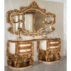 Резной туалетный столик в стиле барокко Султан Люкс