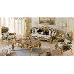 Золотая элитный комплект мягкой мебели Роял ( ROYAL)