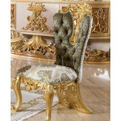 Королевский обеденный стул в золоте Роял