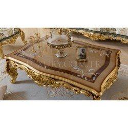 Элитный журнальный столик в стиле барокко Роял