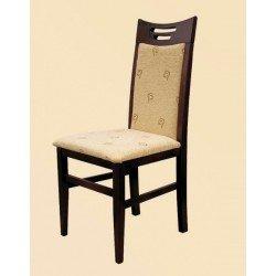 Мягкий деревянный стул из бука Ольга