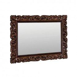 Резное зеркало в рамке ППУ для спальни Артемида