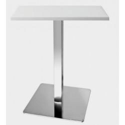 Барный стол на алюминевой ноге Бали