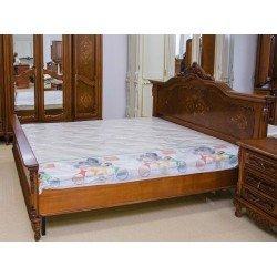Элитная резная кровать  1800 Клеопатра из натурального дерева