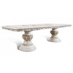 Большой раскладной стол Лувр в стиле барокко