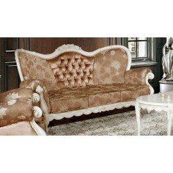 Белый диван Флора в классическом стиле
