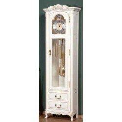 Белые напольные часы ( каркас) Флора