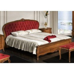 Классическая резная кровать 1800 Аркад, Румыния