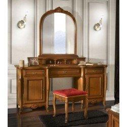 Коричневый туалетный столик в спальню Аркад