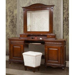 Туалетный стол с зеркалом для спальни Карина, Симекс