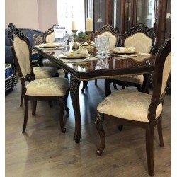 Прямоугольный обеденный стол Клеопатра в стиле барокко