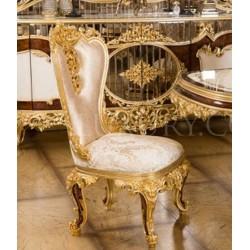 Королевский стул из натурального дерева Ария