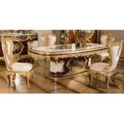 Большой обеденный стол Ария