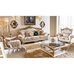 Классический комплект мягкой мебели Битосси