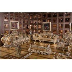 Богатый комплект мягкой мебели в гостиную или холл Диамант