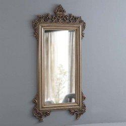 Большое резное зеркало в бронзовой оправе Оскар