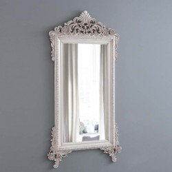 Большое резное зеркало в стиле барокко Марсель