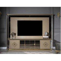 Стенка ТВ с тв тумбой в гостиную Luxury