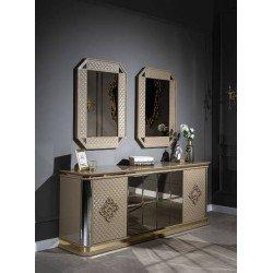 Буфет с зеркалом в гостиную Luxury