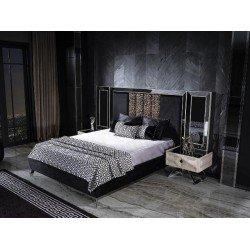 Кровать 1600 с подъемным механизмом в стиле АРТ-Деко АСУС