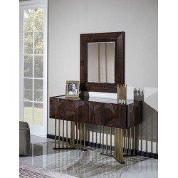 Туалетный столик с зеркалом в стиле модерн Прада