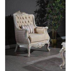 Белое кресло Квин