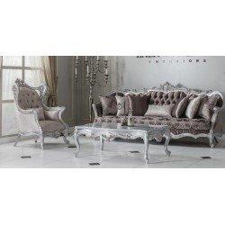 Белый классический диван Светлана (Swetlana) в стиле барокко FER