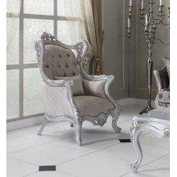 Белое кресло для отдыха Светлана (Swetlana)