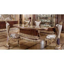 Большой обеденный стол элиткласса Пеарл