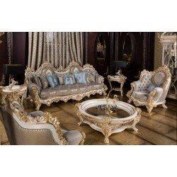 Мягкая классичекая мебель Пера в стиле викрорианского барокко
