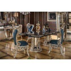 Элитный обеденный стол в гостиную Шарм в стиле ампир