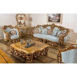 Элитная резная мягкая мебель в стиле барокко Рива (RIVA)