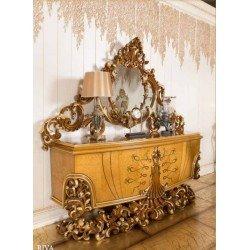 Элитный буфет в гостиную в стиле барокко Рива ( RIVA )