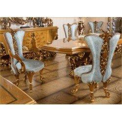 Элитный золотой стул Рива