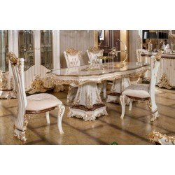 Большой нераскладной стол в гостиную Роял