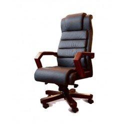 Кожаное кресло с ортопедическим эффектом ЛЕОНАРДО