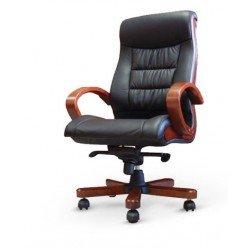 Кожаное директорское кресло Милан