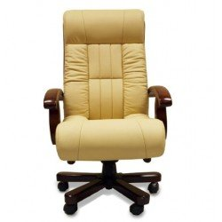 Кожаное директорское кресло Мурано