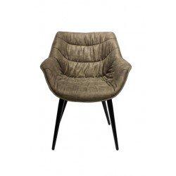 Светло серый стул Ковбой для гостиной