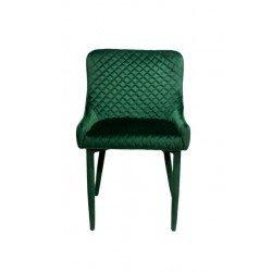 Зеленый велюровый стул Скай ( Sky)