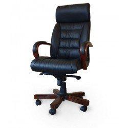 Кожаное директорское кресло ТРЕНТО