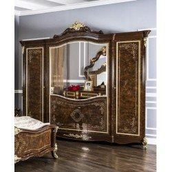 Шкаф для одежды на пятть дверей Империал