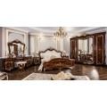 Классическая мебель для спальни в цвете орех караваджо Версаль